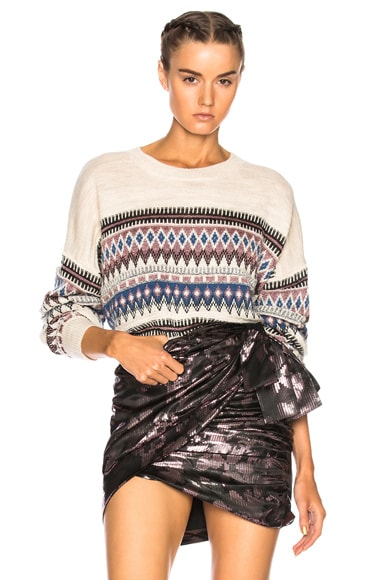 Berwick Lurex Jacquard Sweater