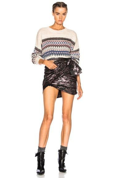 Berwick Lurex Jacquard Sweater
