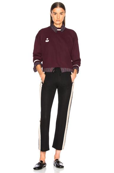 Dayton Sporty Knit Sweatshirt