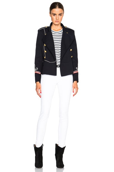 Milford Navy Suits Jacket