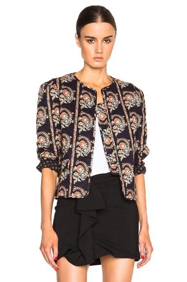 Isabel Marant Etoile Elmer Quilted Jacket in Black