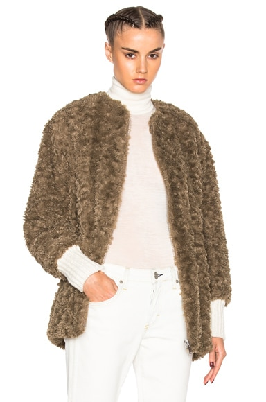 Abril Easy Faux Fur Coat