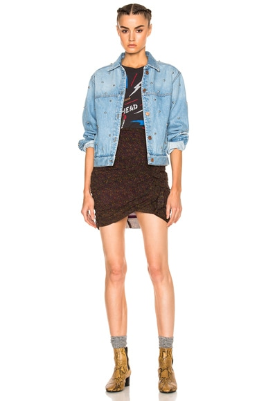 Coften Fancy Studded Denim Jacket