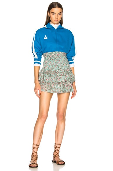 Darcy Sporty Knit Track Jacket