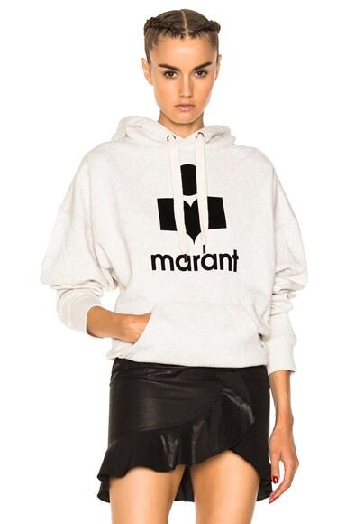 Mansel Marant Hooded Sweatshirt Isabel Marant Etoile