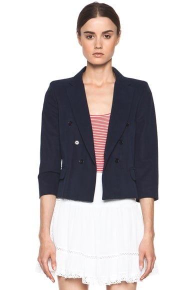 Andrew Slouchy Cotton Drill Jacket