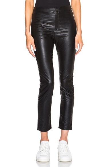 Jeffrey Eco Leather Pants