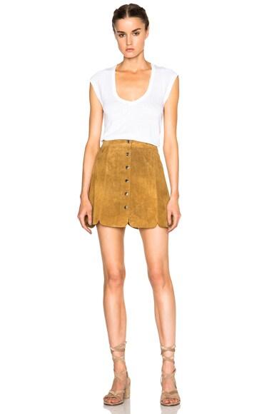 Anna Suede Skirt