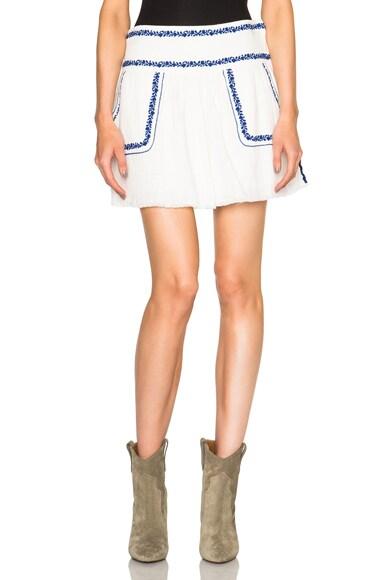 Isabel Marant Etoile Vittoria Skirt in White