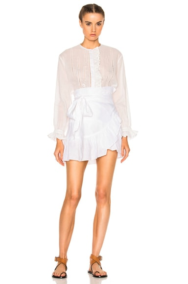 Dempster Chic Linen Skirt