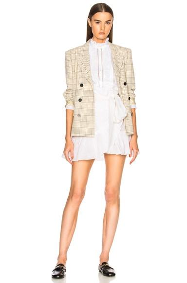 Tempster Chic Linen Wrap Skirt