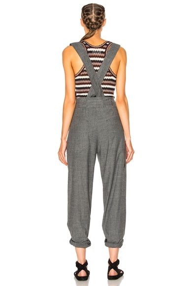 Adrien Chambray Overalls