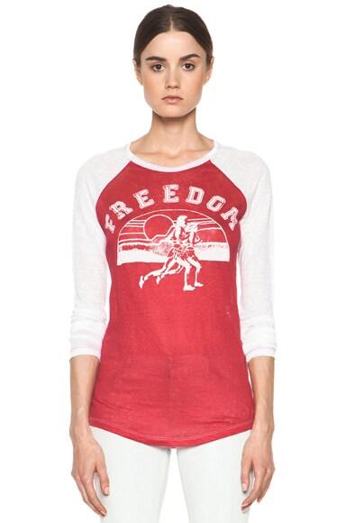 Reed Freedom Linen Tee Shirt