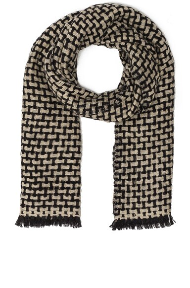 Isabel Marant Etoile Elna Woven Scarf in Anthracite