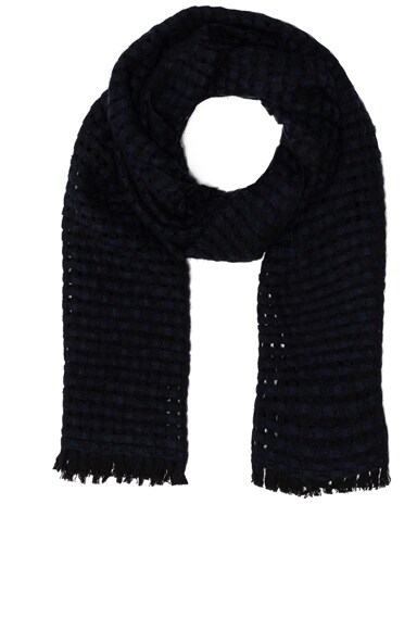 Isabel Marant Etoile Elna Woven Scarf in Midnight