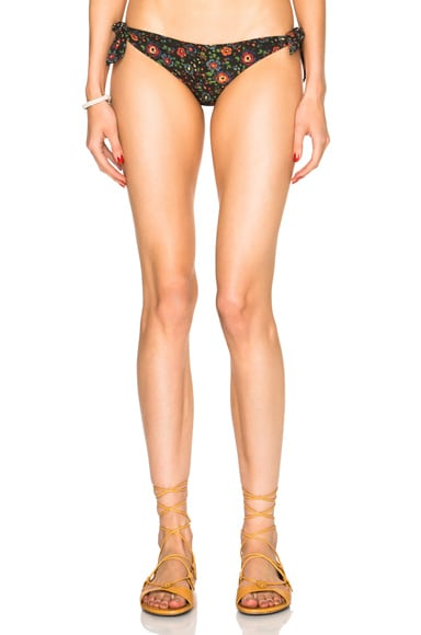 Isabel Marant Etoile Sukie Flower Bikini Bottom in Multi