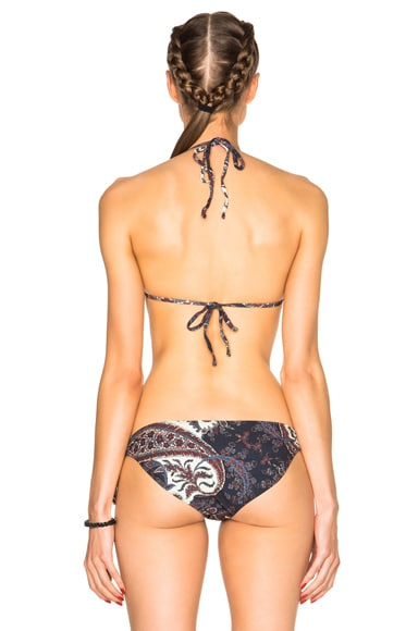Stiza Paisley Bikini Top