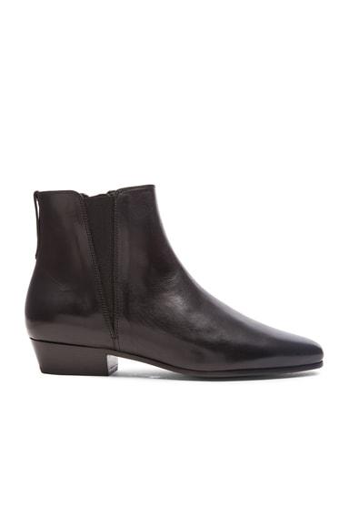 Isabel Marant Etoile Patsha Lennon Leather Boots in Black
