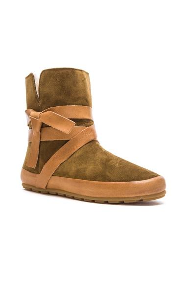 Nygel Winter Calfskin Velvet Dancing Boots