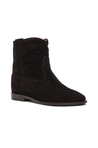 Crisi Calfskin Velvet Boots
