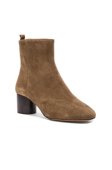 Suede Deyissa Summer Velvet Boots