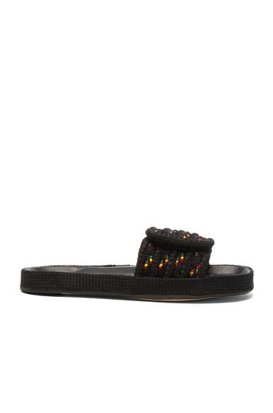 Isabel Marant Etoile Enki Rope Sandals in Multi