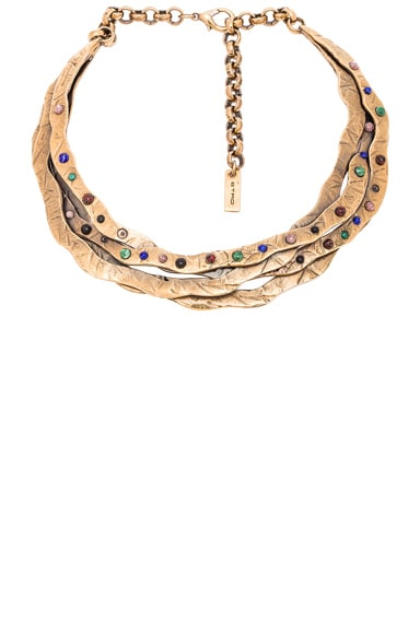 Etro Choker in Gold Multi