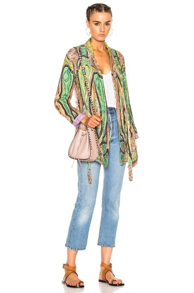 Etro Violante Printed Jacket in Multi