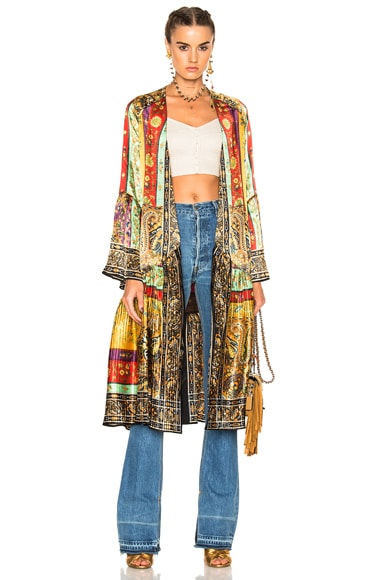 Etro Jasmin Coat in Multi