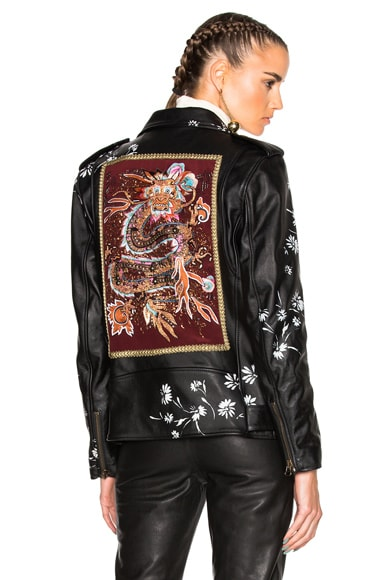 Pearl Leather Jacket