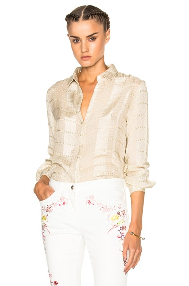 Etro Silk Blouse in Ivory