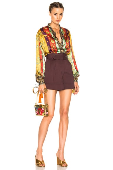 Etro Saffron Shirt in Multi