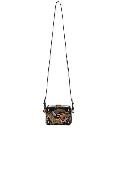 Etro Small Penelope Shoulder Bag in Black