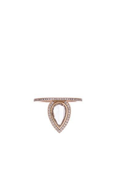 Eva Fehren The Gatsby Ring in 18K Rose Gold