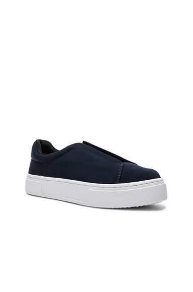 Eytys Grosgrain Doja Sneakers in Navy