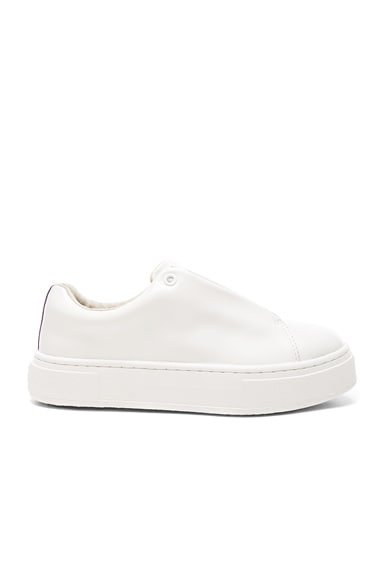 Eytys Leather Doja Sneakers in White