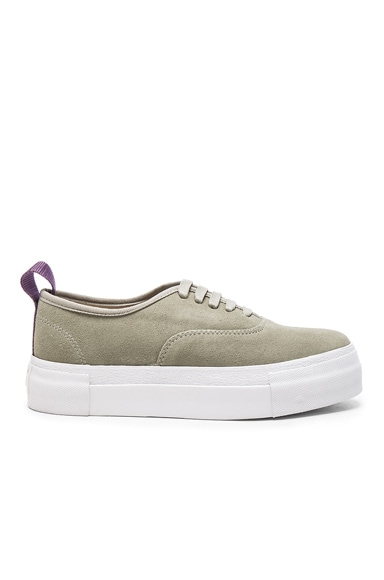 Eytys Suede Mother Sneakers in Grey
