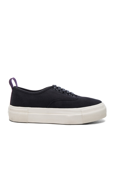Eytys Canvas Mother Sneakers in Black