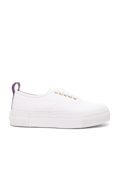 Eytys Canvas Mother Sneakers in White