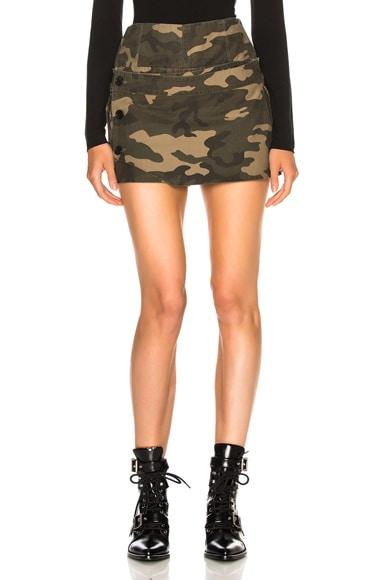 Camo Skirt Short