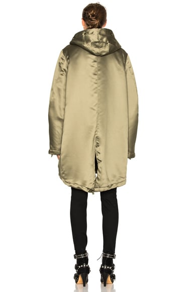 Sherpa Lined Parka Jacket