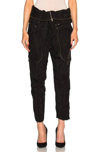 Faith Connexion Cargo Pants in Black