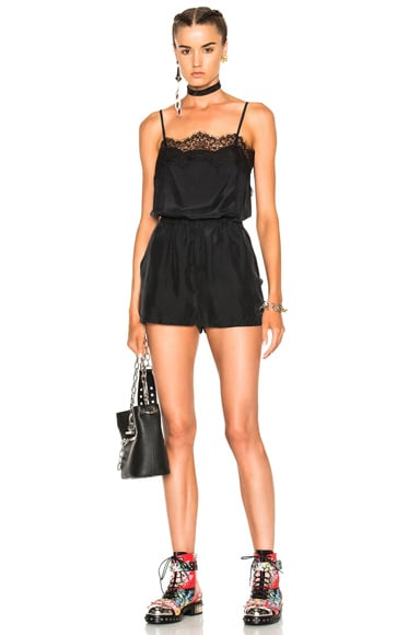 Lace Combo Short Romper Faith Connexion