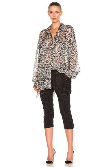 Faith Connexion Leopard Top in Savannah