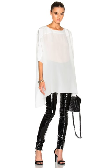 Faith Connexion Silk Top in White