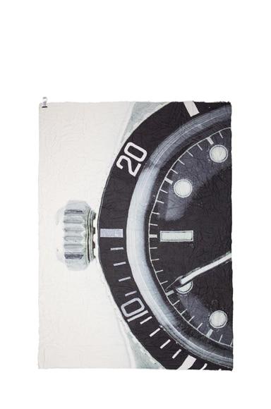 Clock Modal & Cashmere Scarf