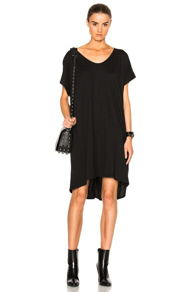 Fine by Superfine Spill Dress in Black