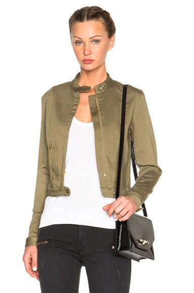 Fine by Superfine Foxy Jacket in Green