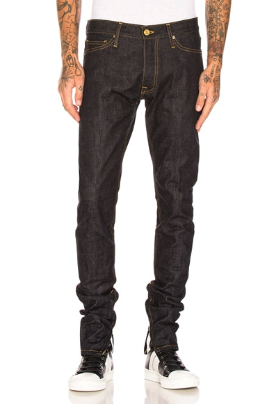 Selvedge Paneled Denim