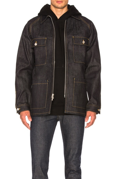 Selvedge Denim Long Jacket